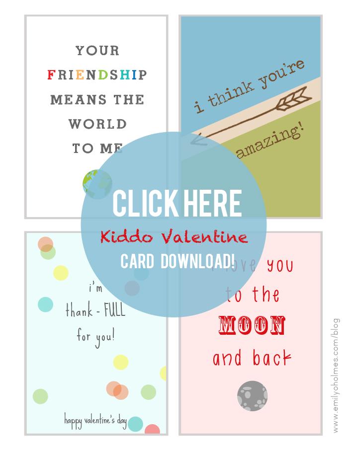 free printable children valentines