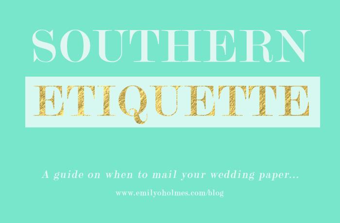 Wedding Rsvp Timeline Etiquette: Southern Etiquette: Invitation Mailing Timeline